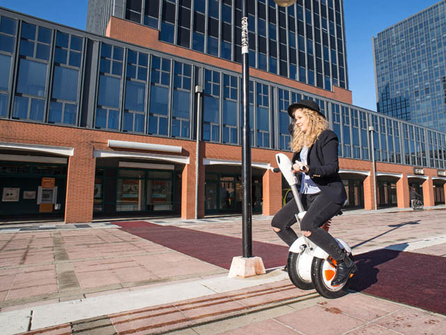 Airwheel A3 two-wheeled self-balancing electric scooter