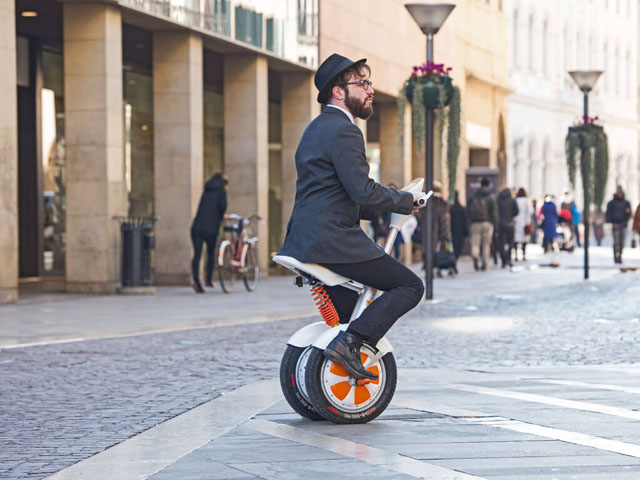 Airwheel A3 sitting-posture electric scooter