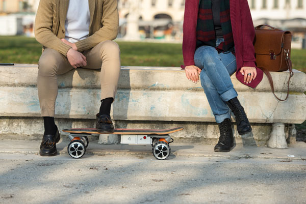 M3 maple electric skateboard