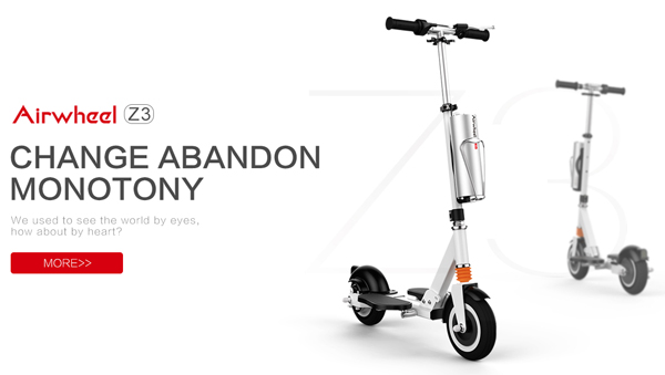 Z3 two wheel self-balancing electric scooter