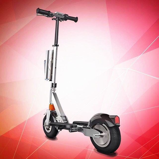 two-wheeled electric scooter