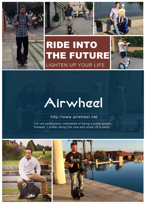 Airwheel twin-wheeled intelligent scooter Q-series