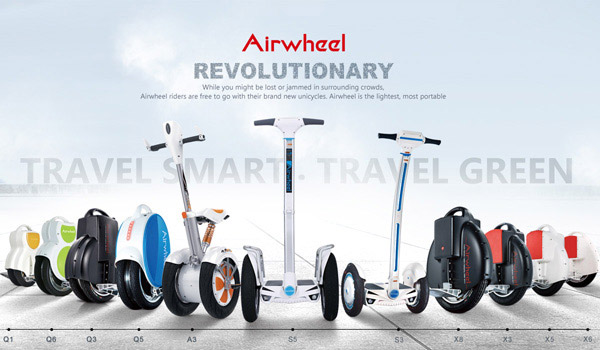 Airwheel intelligent scooter