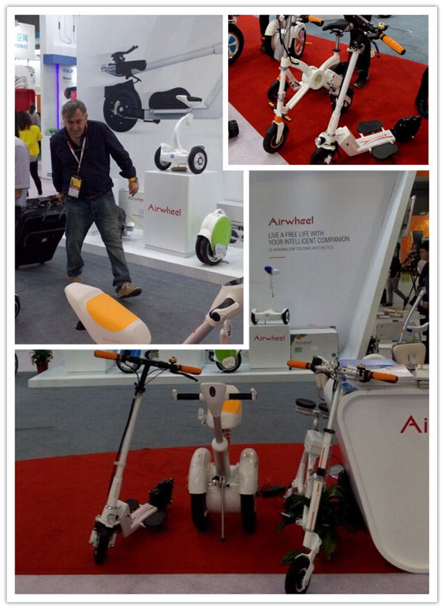 Airwheel new intelligent products