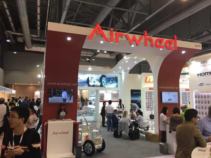 Airwheel Hong Kong Electronic Show