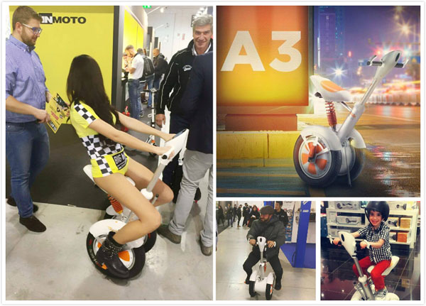 Airwheel A3 saddle-equipped scooter