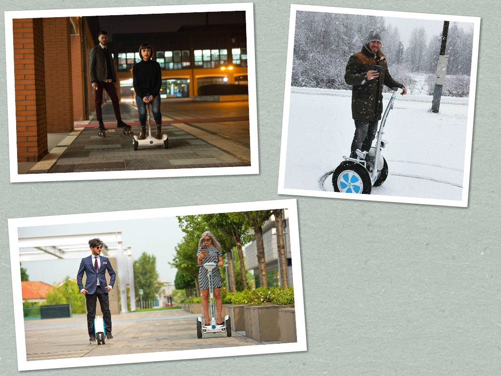 Airwheel M3 wireless remote control skateboard