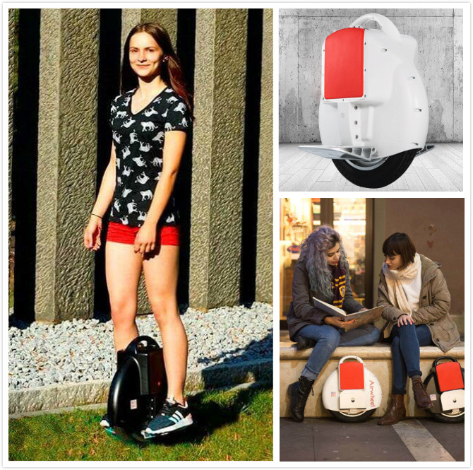 Airwheel self-balancing electric hoverboard