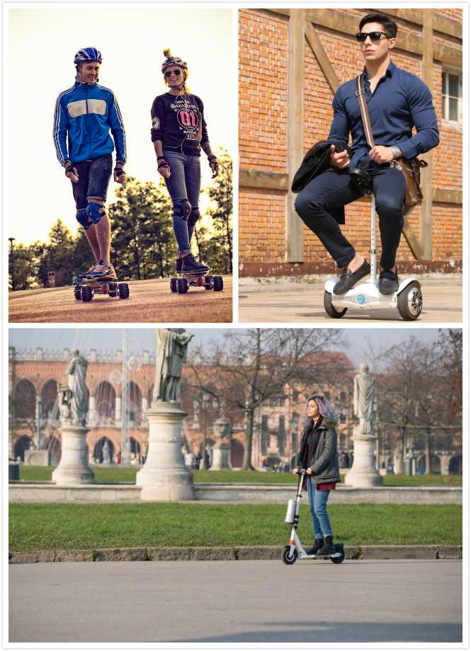 Airwheel electric hoverboards