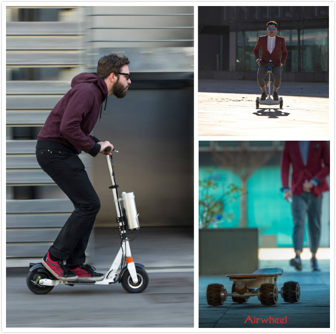 intelligent self-balancing electric scooter