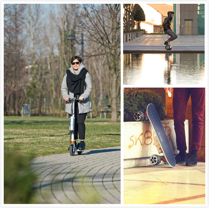 intelligent personal transportation walkcar electric scooter S6