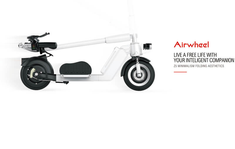 electric standing scooter airwheel z5