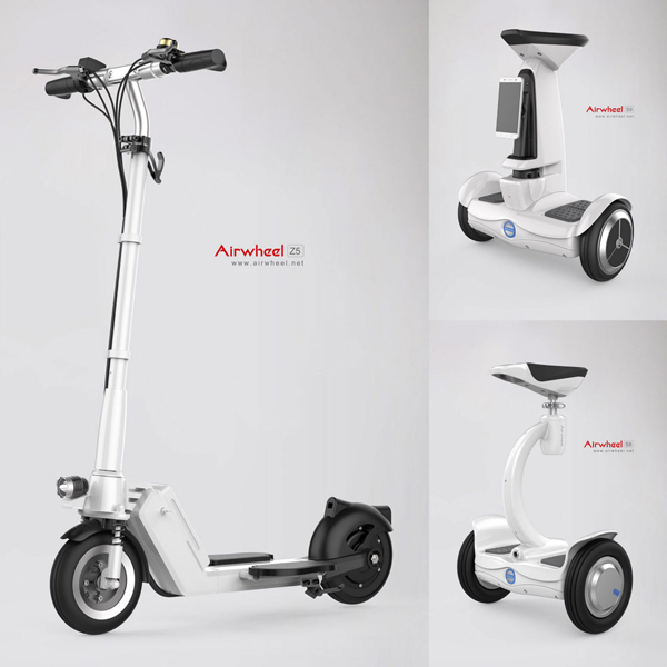 foldable electric scooter for adults airwheel z5