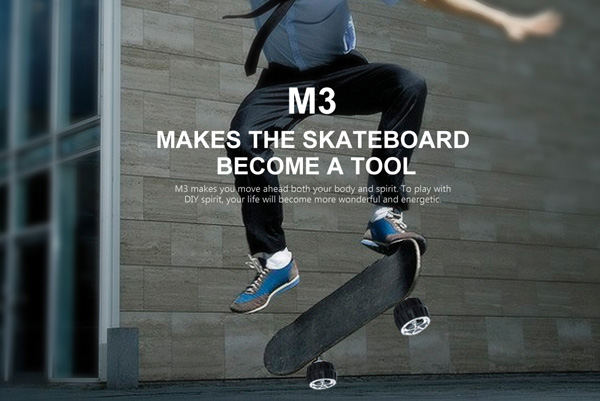 M3 motorized skateboard