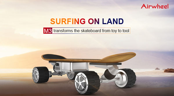 M3 self-balancing air board