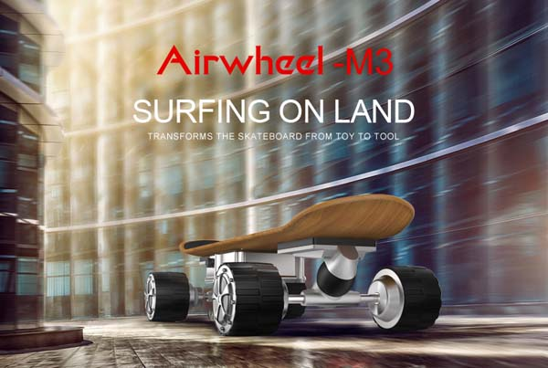 Airwheel electric skateboards