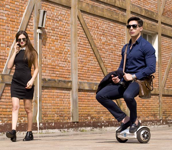 single-wheeled intelligent scooter X8