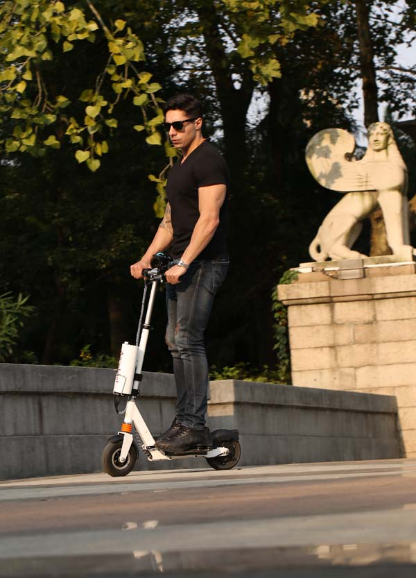 two-wheel electric scooter