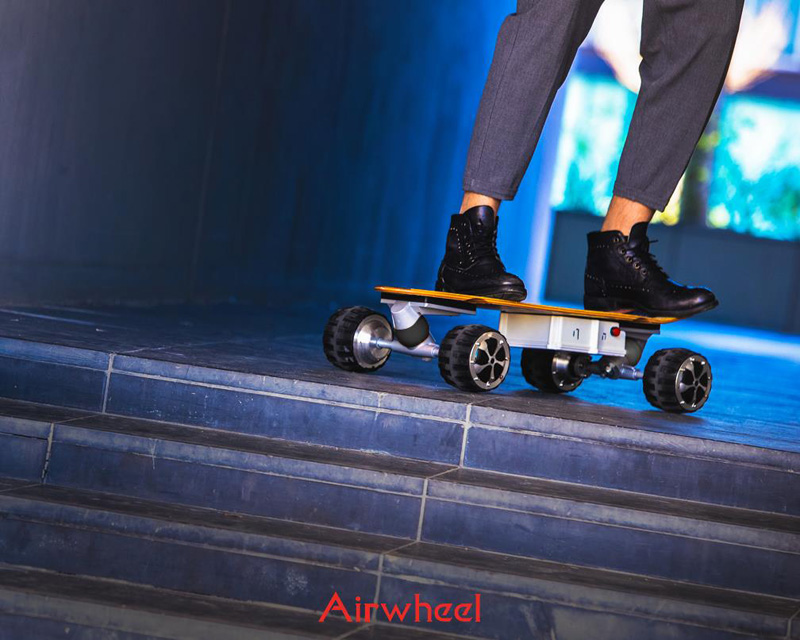 Electric skateboard decks