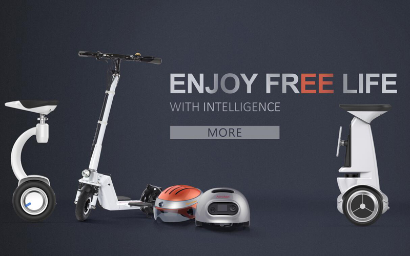 airwheel new products on cebit 2016