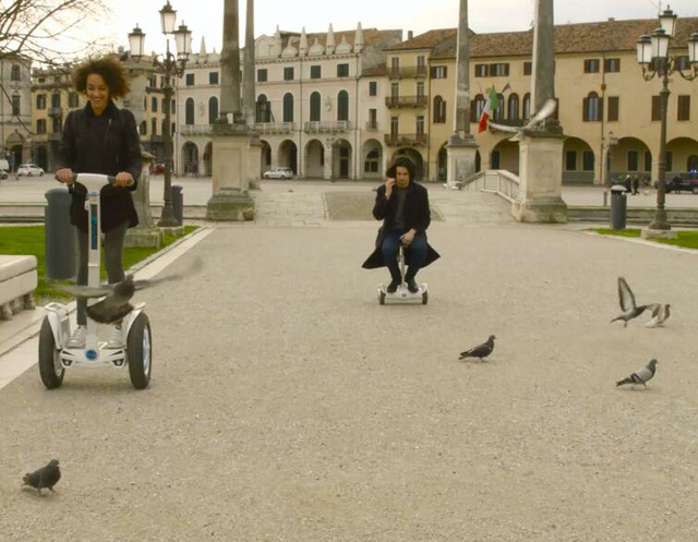 Airwheel electric self-balancing scooter