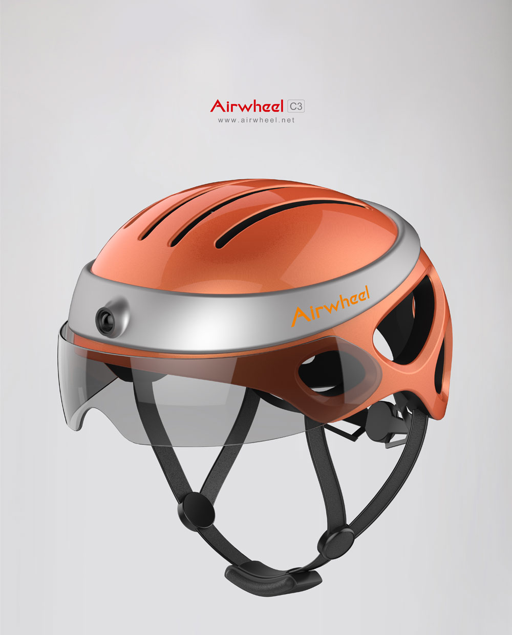 Airwheel C3 smart helmet
