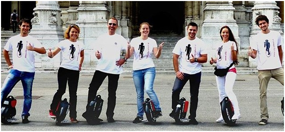 Airwheel, una ruota scooters elettrici, scooter, Airwheel monociclo