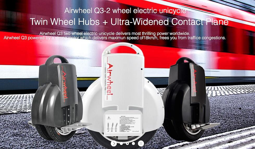 Плюсы и минусы моей Airwheel Q3 одно колесо электрический скутер