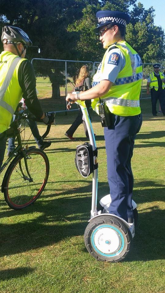 Policiais amo Airwheel S3 Scooter elétrico 2 rodas