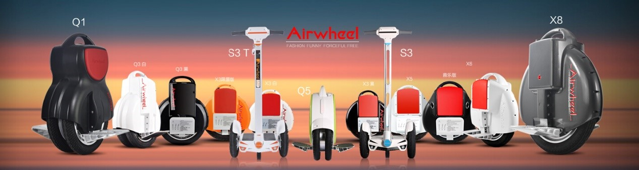 Airwheel monociclos: Pequeño pero potente