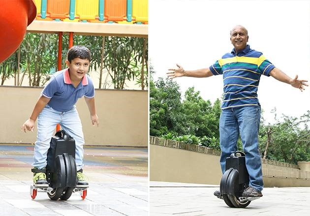 Q3 scooter elétrico, auto equilíbrio monociclo elétrico