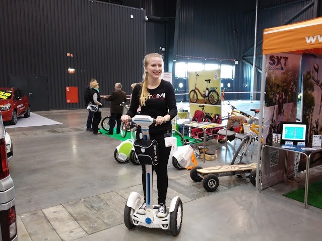 Airwheel Highlighted Bike Trade Show 2015 Gdansk