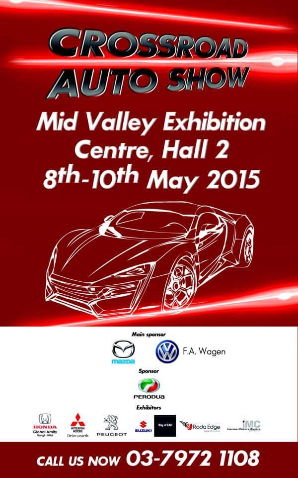 Malaysia Airwheel Is Attending Crossroad Auto Show 2015