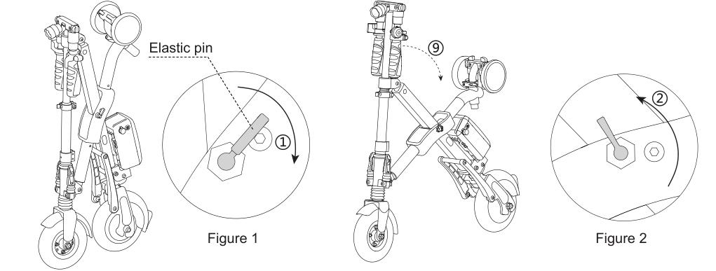 foldable bikes with lithium battery