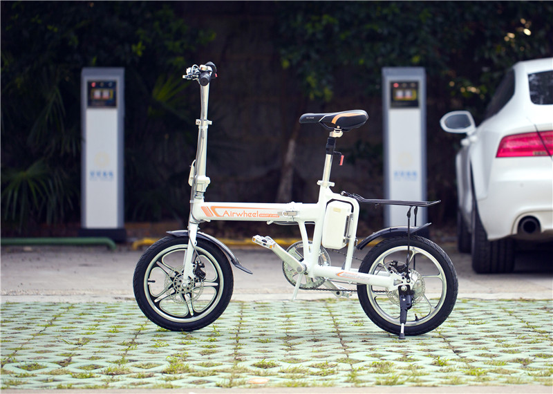 electric assist urban bike