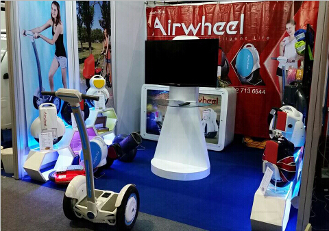 Airwheel self-balancing scooter will make its debut on Båtmässan 2015