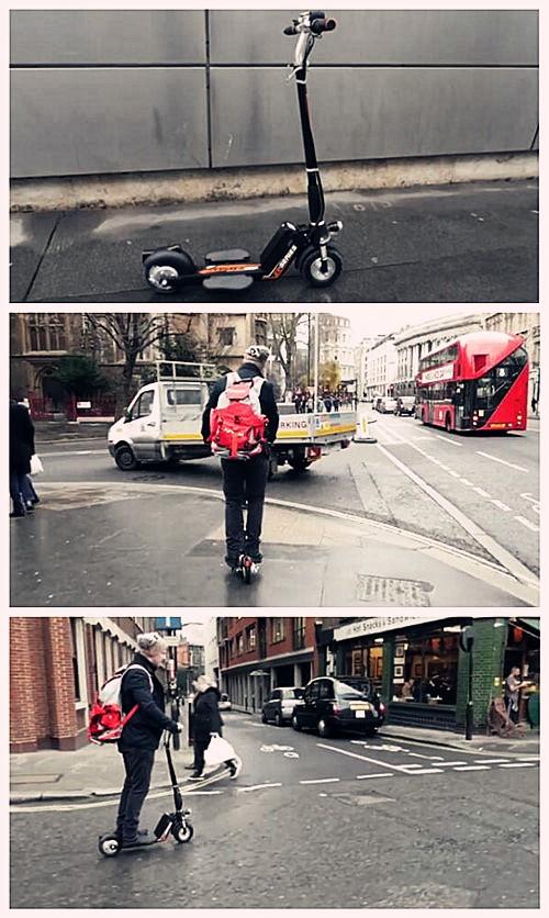 puissance scooter électrique