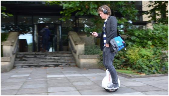 Airwheel, 2 ruote auto-bilanciamento scooter, singola ruota scooter elettrico