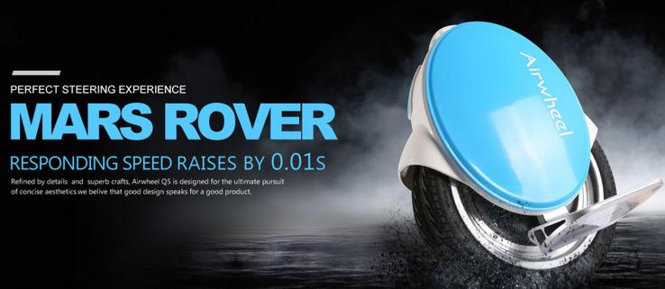Airwheel, auto equilibrio eléctrico monociclo, eléctrica bicicleta de una rueda