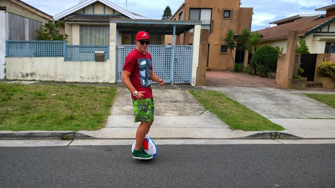 Airwheel, auto-equilibrio monociclo, monociclo eléctrica, eléctrico scooter de rueda sola