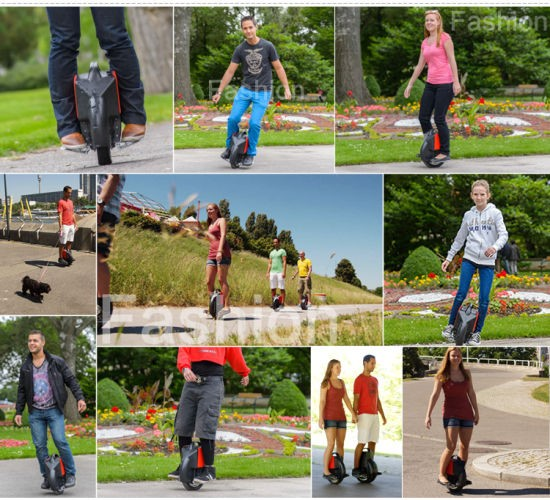 Airwheel E-Unicycles Leads Green Travel