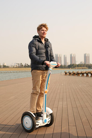Airwheel two-wheeled scooter S3 is prevailing all over the world