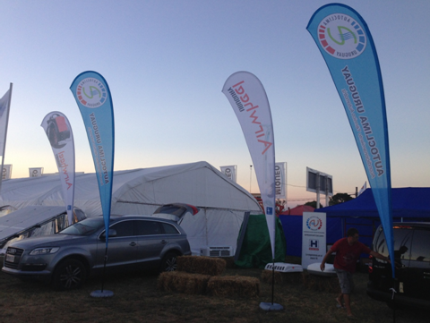 Airwheel Intelligent self balancing electric scooter Attended Expoactiva Nacional