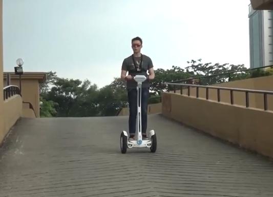 Airwheel S3 2-ruedas eléctrico scooter revisión: Aprendizaje sin esfuerzo, viaje seguro