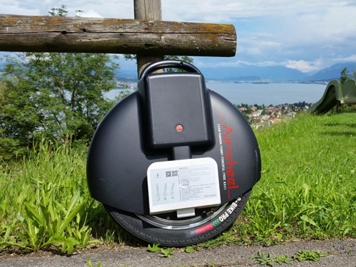 Airwheel X 3 Review: Eine futuristische Transportmittel