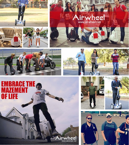 Introduction into Classic Series of Airwheel Self-balancing Scooter