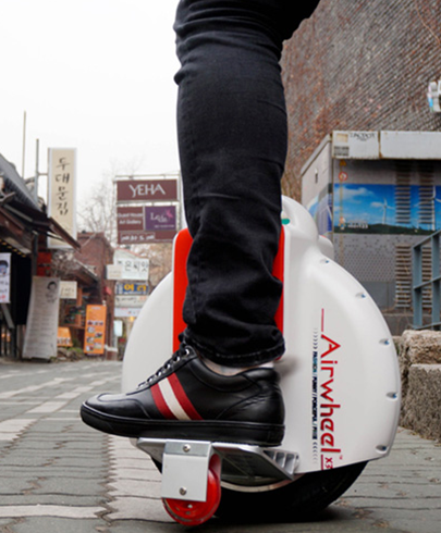 The Zenith of Agile Design of Airwheel: electric unicycle, X3