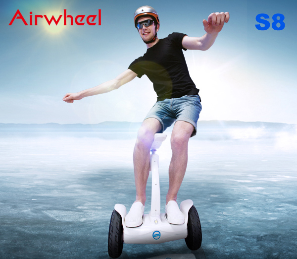 self-balancing electric scooter