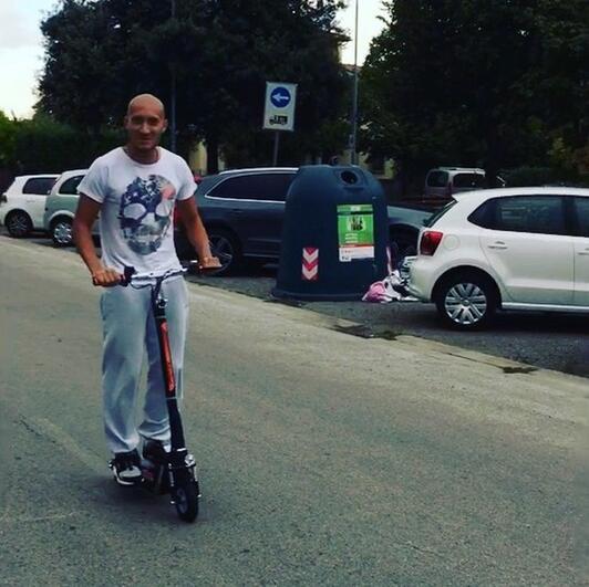 2 rueda scooter
