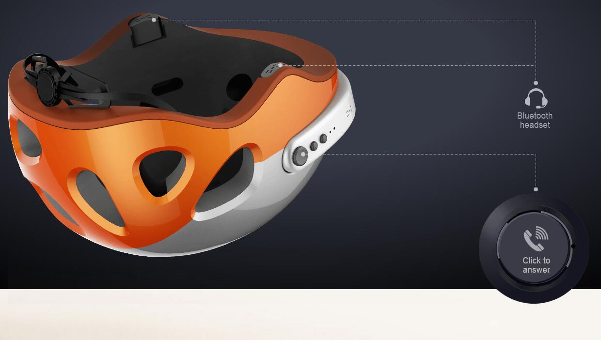 sport helmet with camera